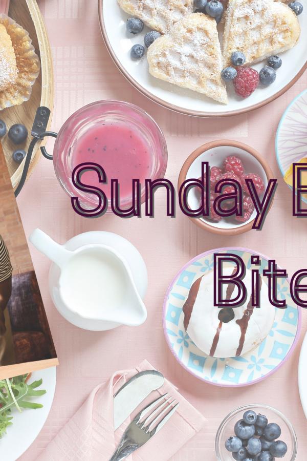 Cover of Learned Reactions, by Jayce Ellis, on Brunch Spread. Caption: Sunday Brunch Bites
